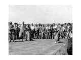 Walter Hagen, 1933 British Open Photographic Print