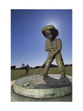 Pinehurst Putter Boy II Regular Photographic Print by Dom Furore