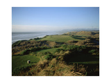 Bandon Dunes Golf Course Regular Photographic Print by Stephen Szurlej