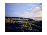 Bandon Dunes Golf Course, Hole 16 Regular Photographic Print by Stephen Szurlej