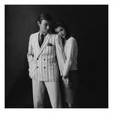 GQ - February 1967 Regular Photographic Print by Leonard Nones