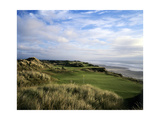 Pacific Dunes Golf Course, Hole 11 Regular Photographic Print by Stephen Szurlej
