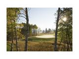 Osprey Meadows Golf Course, Hole 16 bunker Regular Photographic Print by Stephen Szurlej