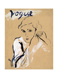 "Vogue - November 1934 Regular Photographic Print by Carl ""Eric"" Erickson"