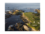Cypress Point Gol Course Hole 16 and 17 Regular Photographic Print by Stephen Szurlej