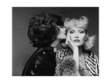 Vogue - July 1974 - Two Models Wearing Bill Blass and Bulgari Regular Photographic Print by Francesco Scavullo