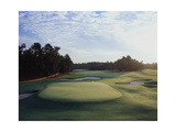 Pinehurst Golf Course No. 2, Hole 18 Regular Photographic Print by Stephen Szurlej
