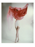 Vogue - February 1953 Regular Photographic Print by Erwin Blumenfeld
