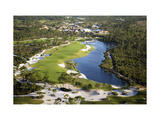 Medalist Golf Club, Hole 15, aerial Regular Photographic Print by Stephen Szurlej
