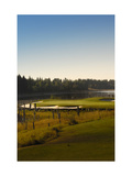 Whitefish Lake Golf Course Regular Photographic Print by Dom Furore