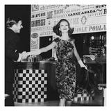 Vogue - November 1961 Regular Photographic Print by John Rawlings