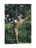 Payne Stewart Statue at Pinehurst Regular Photographic Print by Dom Furore