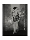 Vogue - December 1924 Regular Photographic Print by Edward Steichen