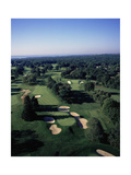 Winged Foot Golf Course West Course, Holes 12 and 13 Regular Photographic Print by Stephen Szurlej