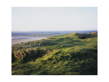 Lahinch Golf Club, fairway between dunes Photographic Print by Stephen Szurlej