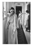 Vogue - January 1975 Regular Photographic Print by Deborah Turbeville