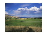 Old Works Golf Course, Bunkers Regular Photographic Print by Stephen Szurlej