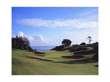 Princeville Golf Club The Prince Course, Hole 7 Regular Photographic Print by Stephen Szurlej