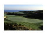 Pelican Hill Golf Club, Hole 18 Photographic Print by Stephen Szurlej