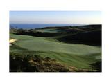 Pelican Hill Golf Club, Hole 18 Regular Photographic Print by Stephen Szurlej