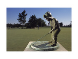 Pinehurst Putter Boy I Regular Photographic Print by Dom Furore