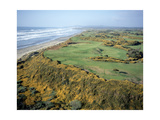 Bandon Dunes Golf Course Regular Photographic Print by J.D. Cuban