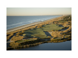 Kiawah Island Resort, Ocean Course, aerial Regular Photographic Print by Stephen Szurlej