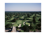 Winged Foot Golf Course Regular Photographic Print by Stephen Szurlej