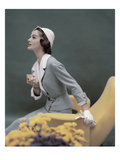 Vogue - March 1957 Photographic Print by Karen Radkai