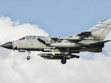 An Italian Air Force Panavia Tornado ECR Returns from a Mission over Libya Photographic Print by  Stocktrek Images