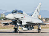 An Italian Air Force Eurofighter Typhoon at Grosseto Air Base, Italy Photographic Print by  Stocktrek Images