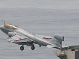 An EA-6B Prowler Lifts Off from the Flight Deck of USS Harry S. Truman Photographic Print by  Stocktrek Images