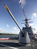 Guided-Missile Destroyer USS Jason Dunham Photographic Print by  Stocktrek Images