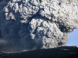 Ash Cloud Erupting from Eyjafjallajökull Volcano, Iceland Photographic Print by  Stocktrek Images