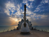 Guided-Missile Destroyer USS Higgins Photographic Print by  Stocktrek Images