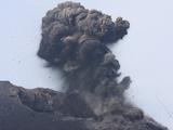 Ash Cloud from Vulcanian Eruption of Anak Krakatau Volcano, Sunda Strait, Java, Indonesia Photographic Print by  Stocktrek Images
