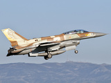 An Israeli Air Force F-16I Sufa Photographic Print by  Stocktrek Images