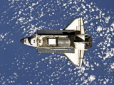 Space Shuttle Discovery Photographic Print by  Stocktrek Images