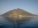 Stromboli Volcano, Aeolian Islands, Mediterranean Sea, Italy Photographic Print by  Stocktrek Images