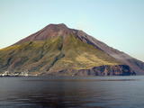 Stromboli Volcano, Aeolian Islands, Mediterranean Sea, Italy Photographic Print by  Stocktrek Images