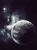 Artist's Concept of a Windy Planet with a Thick Atmosphere Photographic Print by  Stocktrek Images