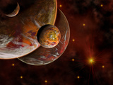 Artist's Concept of the Birth Place of a Star System Photographic Print by  Stocktrek Images