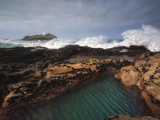Godrevy Lighthouse in Cornwall, England Photographic Print by  Stocktrek Images