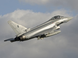 A Eurofighter 2000 Typhoon of the Italian Air Force Photographic Print by  Stocktrek Images