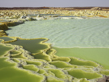 Dallol Geothermal Area, Danakil Depression, Ethiopia Photographic Print by  Stocktrek Images