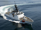 U.S. Coast Guard Cutter Waesche in the Navigates the Gulf of Mexico Stampa fotografica di Stocktrek Images,