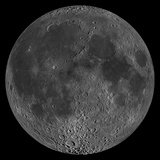 Mosaic of the Lunar Nearside Photographic Print by  Stocktrek Images