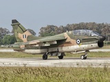An A-7 Corsair II of the Hellenic Air Force at Araxos Air Base, Greece Photographic Print by  Stocktrek Images