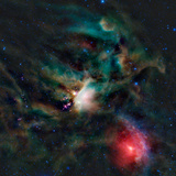 The Rho Ophiuchi Cloud Complex Photographic Print by  Stocktrek Images