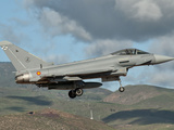 A Eurofighter Typhoon of the Spanish Air Force Photographic Print by  Stocktrek Images